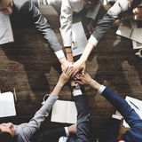 Business People Meeting Corporate Connection Togetherness Concep Royalty Free Stock Photo