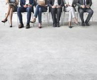 Business People Meeting Corporate Digital Device Connection Conc Royalty Free Stock Photography