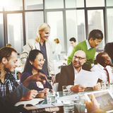 Business People Meeting Corporate Friendship Teamwork Concept Royalty Free Stock Photography