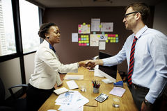 Business People Meeting Corporate Handshake Greeting Concept Stock Image
