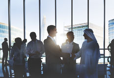 Business People Meeting Corporate Handshake Greeting Concept Royalty Free Stock Photography