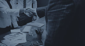 Business People Meeting Corporate Handshake Greeting Concept Royalty Free Stock Image