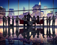 Business People Meeting Corporate Office Buildings Concept Royalty Free Stock Image