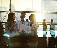 Business People Meeting Corporate Teamwork Collaboration Concept Royalty Free Stock Images