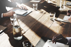 Business People Meeting Discussion Agreement Negotiation Concept Stock Photography