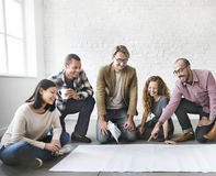 Business People Meeting Discussion Brainstorming Copy Space Concept royalty free stock images
