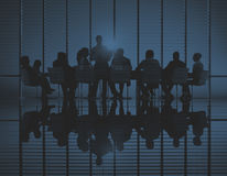 Business People Meeting Discussion Communication Concept stock image