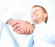Business People Meeting Discussion Corporate Handshake Concept Stock Photo