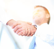 Business People Meeting Discussion Corporate Handshake Concept Stock Photos
