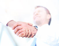 Business People Meeting Discussion Corporate Handshake Concept Royalty Free Stock Images