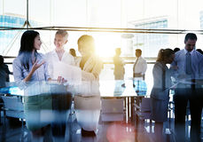 Business People Meeting Discussion Corporate Team Concept Stock Photos