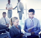 Business People Meeting Discussion Corporate Team Concept Stock Image