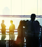Business People Meeting Discussion Handshake Greeting Concept Royalty Free Stock Image