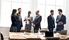 Business People Meeting Discussion Working Concept Royalty Free Stock Photography