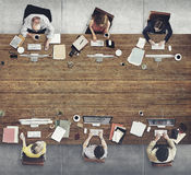 Business People Meeting Discussion Working Concept.  Royalty Free Stock Image