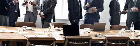 Business People Meeting Discussion Working Concept Royalty Free Stock Image