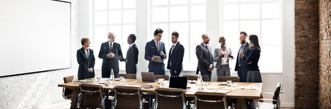 Business People Meeting Discussion Working Concept stock images