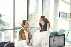 Business People Meeting Discussion Working Office Concept Royalty Free Stock Photography