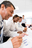 Business people in a meeting Royalty Free Stock Photo