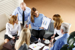 Business people at meeting Stock Photography