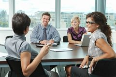 Business people meeting at office Royalty Free Stock Image