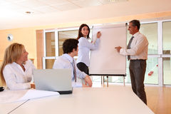 Business people meeting in the office Royalty Free Stock Photos