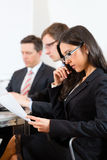 Business people during meeting in office Royalty Free Stock Photo