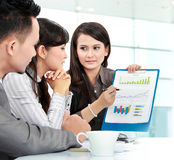 Business people meeting in the office Royalty Free Stock Images