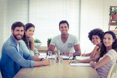 business people during a meeting Royalty Free Stock Photography