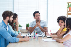 business people during a meeting Stock Image