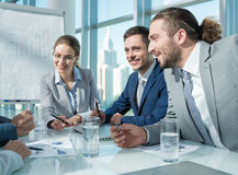 Business. People at meeting in office Stock Photos