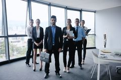 Business people in a meeting at office Royalty Free Stock Image