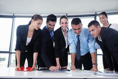 Business people in a meeting at office Royalty Free Stock Photography