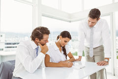 Business people in meeting at office Stock Photo