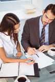 Business people in meeting at office Royalty Free Stock Image