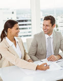 Business people in meeting at office Royalty Free Stock Photography