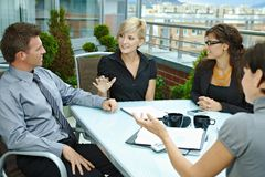 Free Business People Meeting Outdoor Stock Photography - 13287552