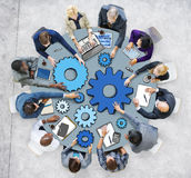 Business People in Meeting Photo and Illustration Stock Photography