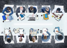 Business People Meeting Photo Illustration Stock Photography
