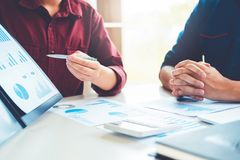 Business People meeting Planning Strategy Analysis Concept Stock Photography
