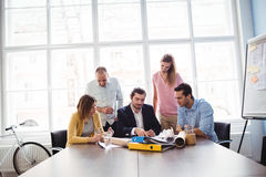 Business people in meeting room Royalty Free Stock Photo