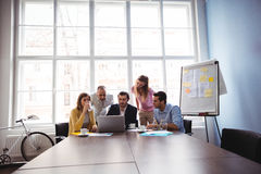Business people in meeting room Stock Images