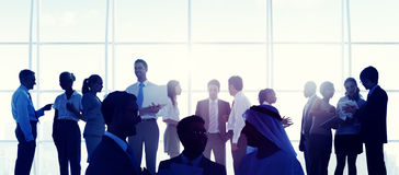 Business People Meeting Room Handshake Global Concept Royalty Free Stock Photo