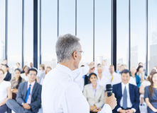 Business People Meeting Seminar Conference Sharing Concept Royalty Free Stock Photo