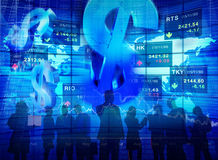 Business People Meeting Stock Exchange Concepts Stock Images