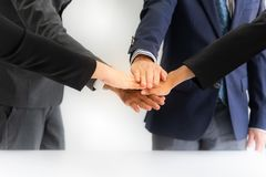 Businessmen meeting success teamwork royalty free stock photography