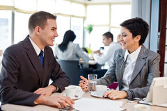 Business people on meeting Stock Photography