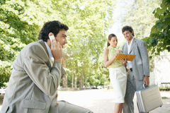 Business team in meeting. Stock Images
