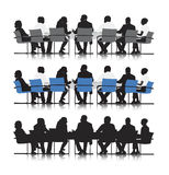 Business people meeting vector Royalty Free Stock Photos
