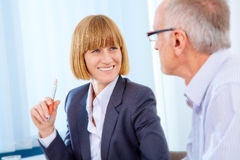 Business people meeting Royalty Free Stock Photo